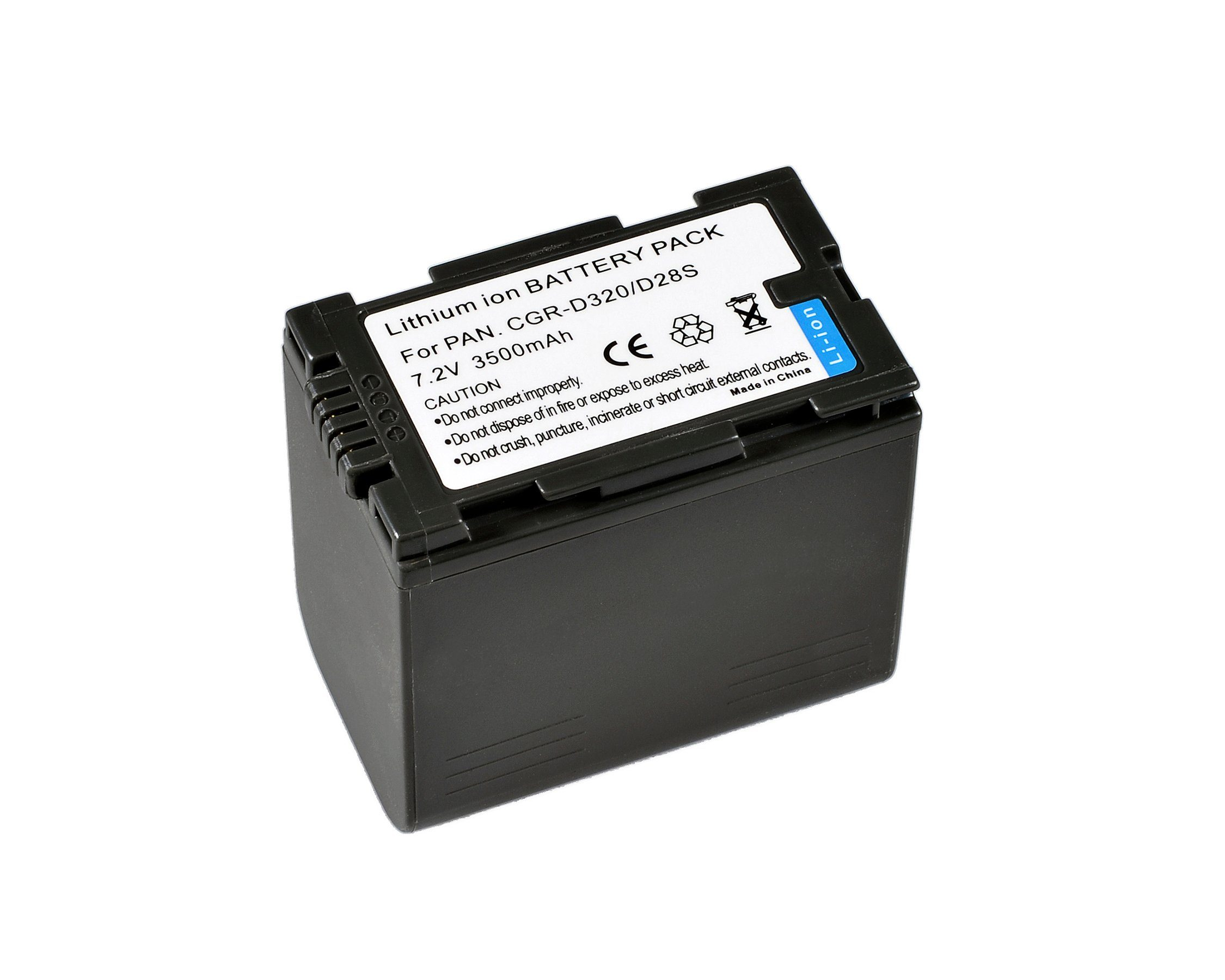 BRESSER Akku »Lithium-Ionen Akku für Panasonic CGR-D320/CGR-D28S«