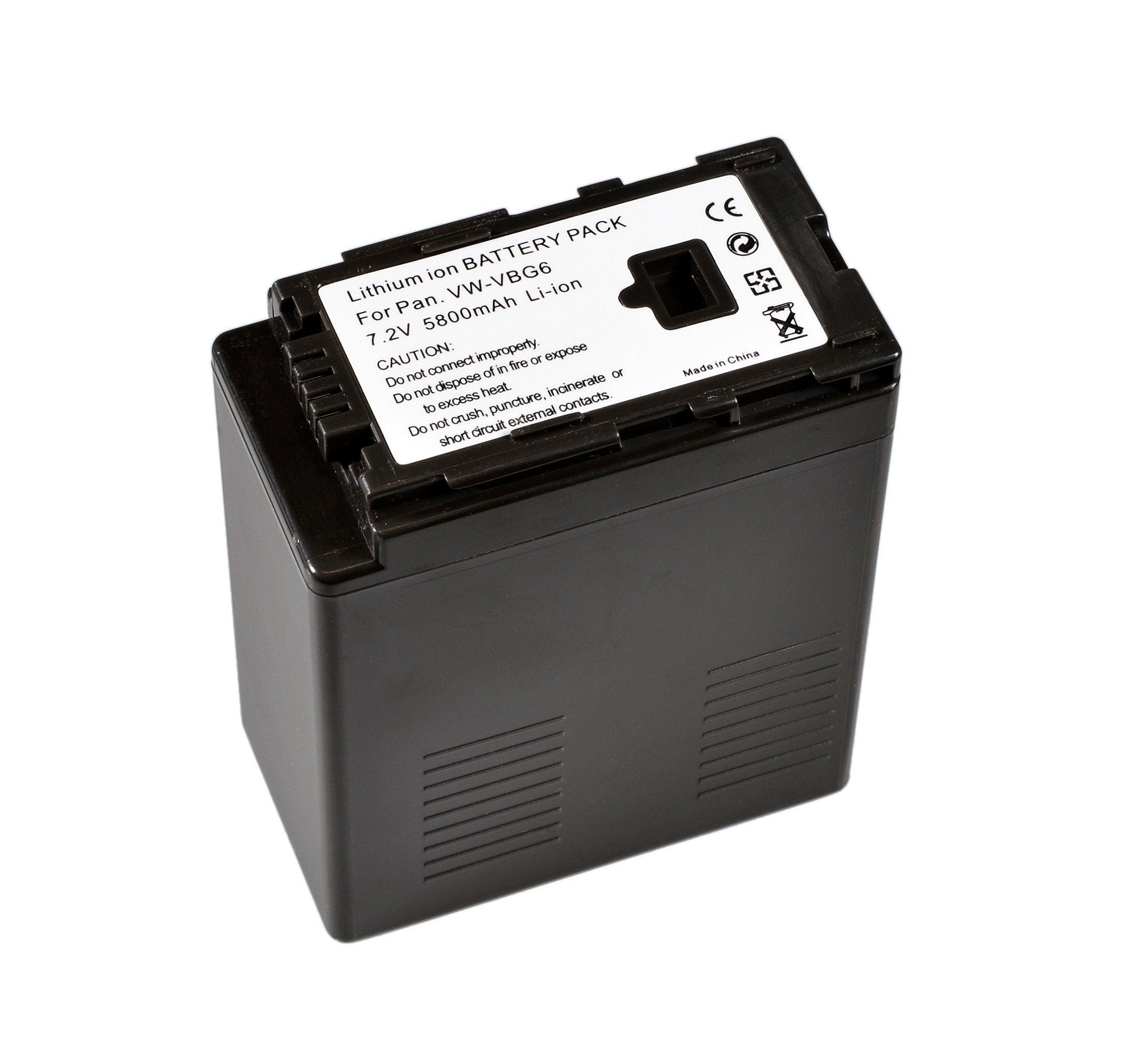 BRESSER Akku »Lithium-Ionen Ersatzakku für Panasonic VW-VBG6«