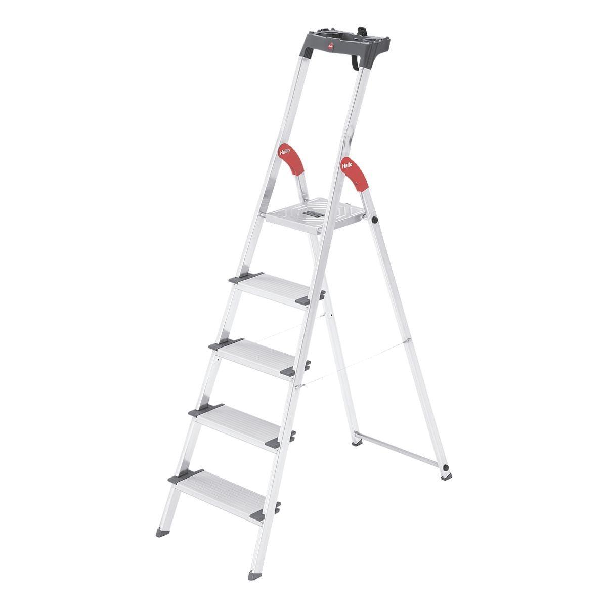 Hailo Sicherheits-Stufenstehleiter »ProfiLine S 150 XXL«   Baumarkt > Leitern und Treppen > Stehleiter   Hailo
