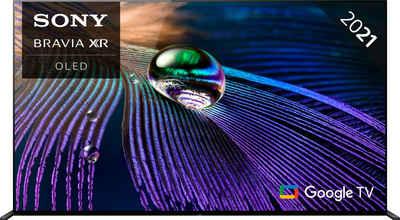Sony XR-65A90J OLED-Fernseher (164 cm/65 Zoll, 4K Ultra HD, Google TV, Smart-TV, Android TV, 2021 Modell)