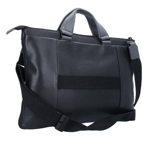 Piquadro Expandable Slim Aktentasche Leder 43 cm Laptopfach