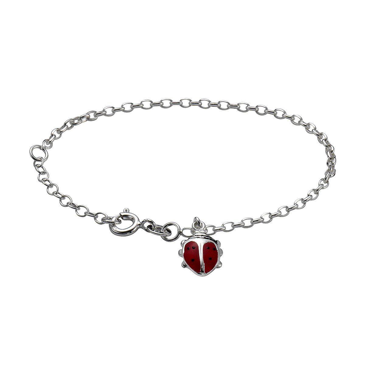 Zeeme Armband »925/- Sterling Silber Marienkäfer«