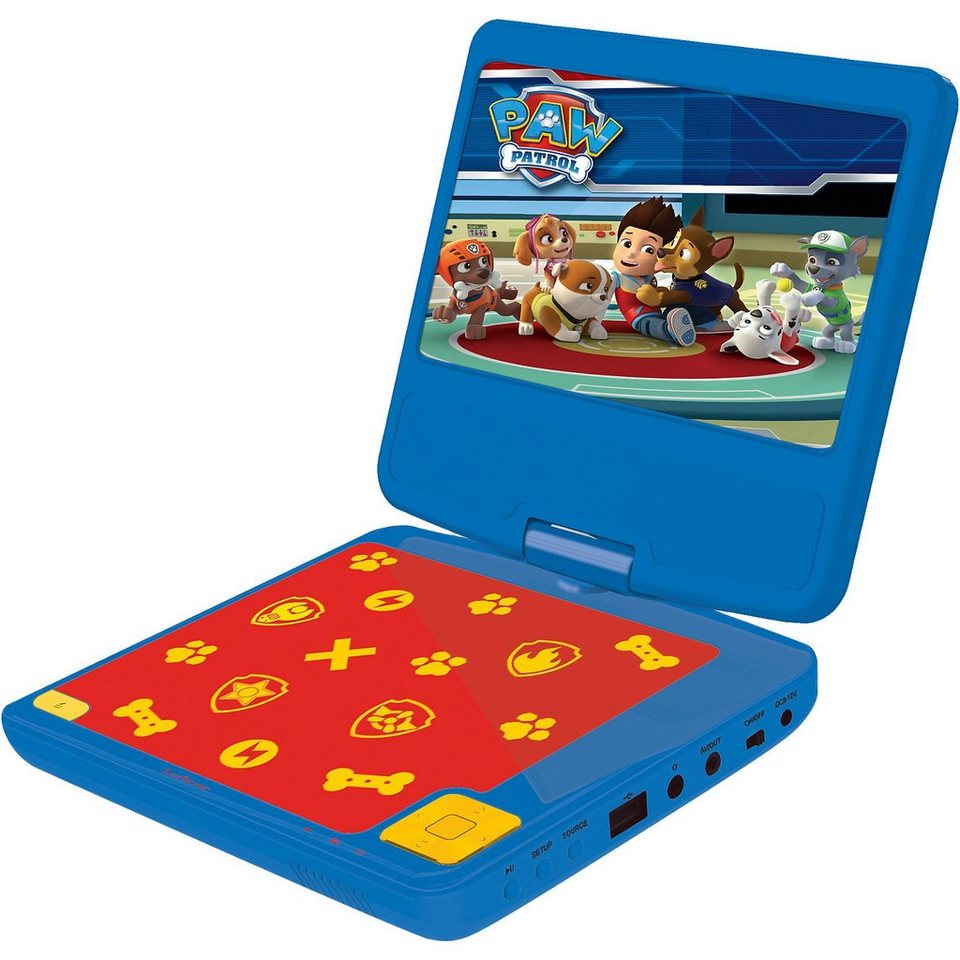 lexibook paw patrol tragbarer dvd player kaufen otto. Black Bedroom Furniture Sets. Home Design Ideas
