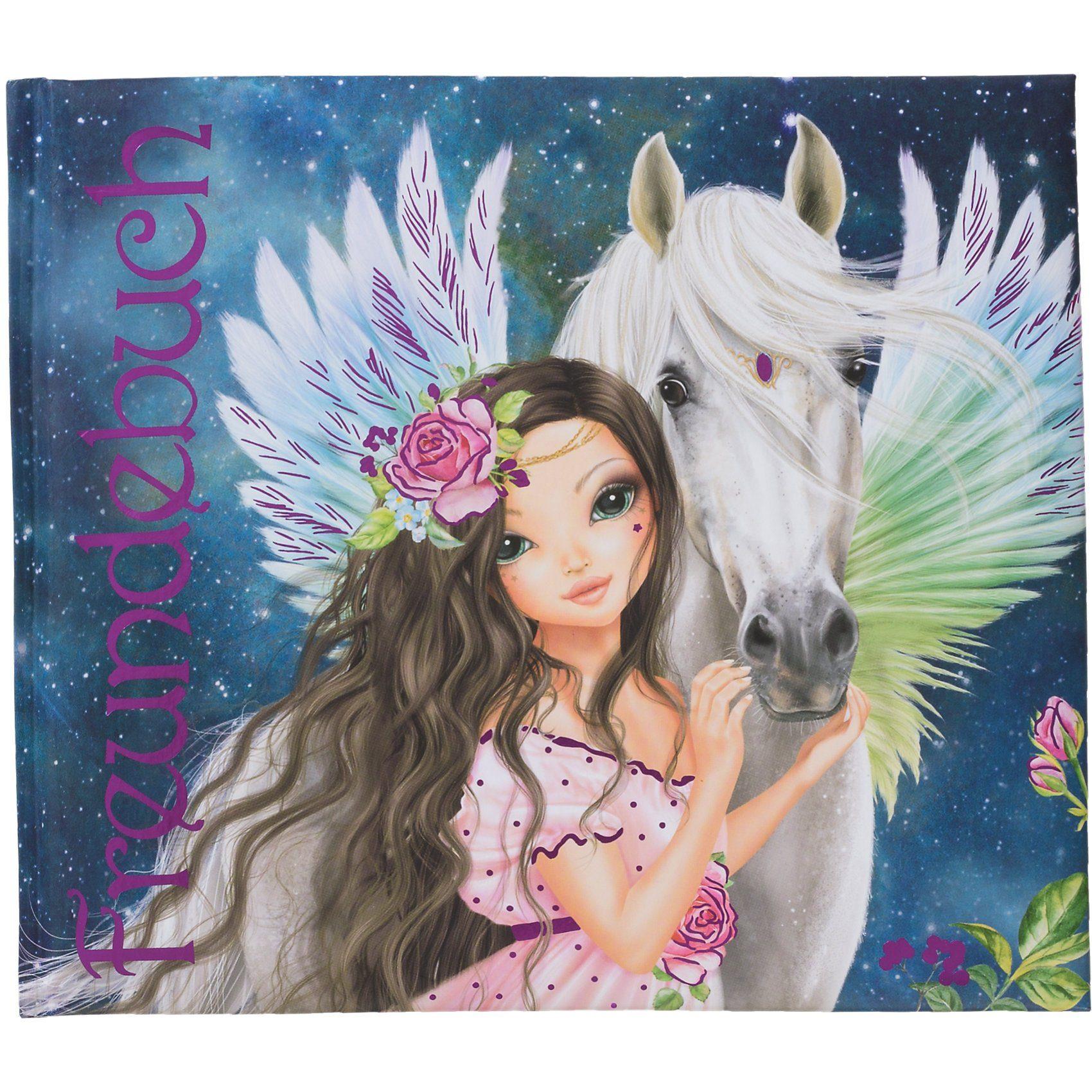 Depesche Freundebuch Fantasy Model Pferd
