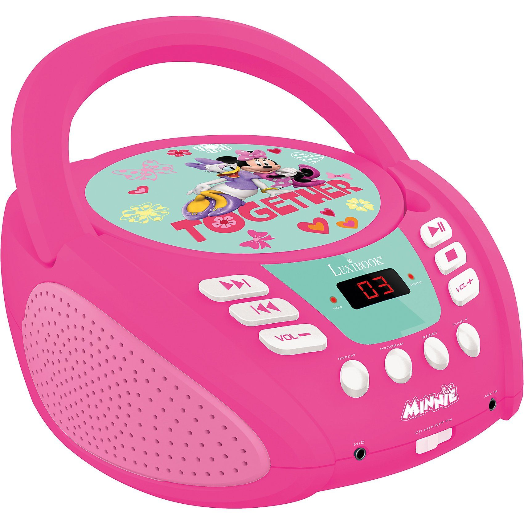 LEXIBOOK Minnie CD-Player mit Radio (neues Design)