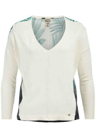 khujo V-Ausschnitt-Pullover »IMPRO«