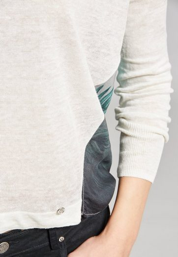 khujo V-Ausschnitt-Pullover IMPRO