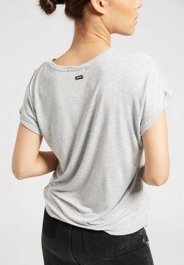 khujo T-Shirt MILDA TYPO PRINT