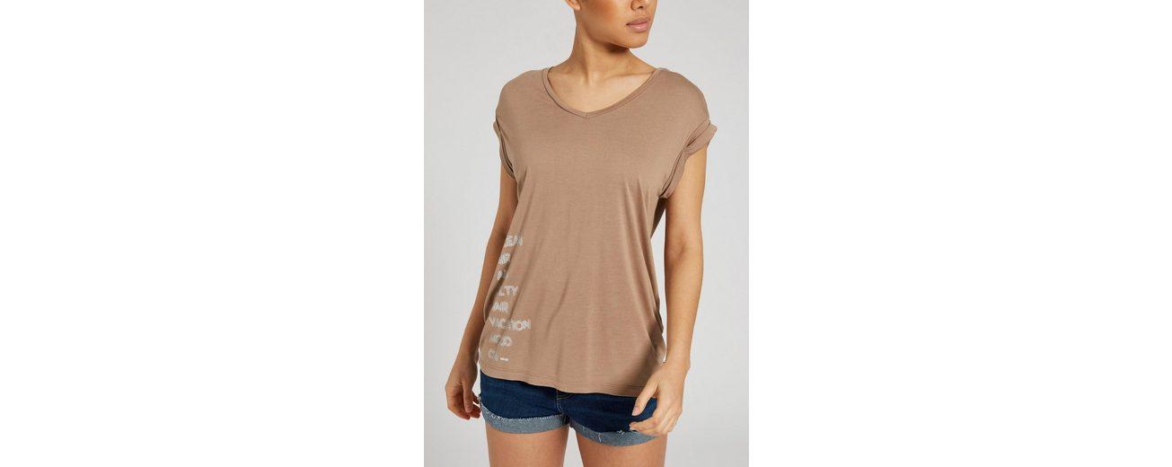 khujo T-Shirt IMKE NEON PRINT Rabatt Authentische Online Freies Verschiffen 100% Authentisch Freie Versandrabatte raEjToy1