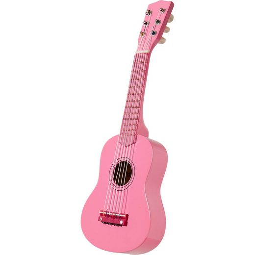 Bontempi Klassische Holzgitarre pink 55 cm