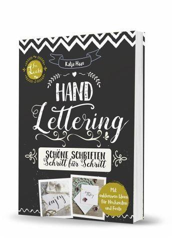 Broschiertes Buch »Handlettering«
