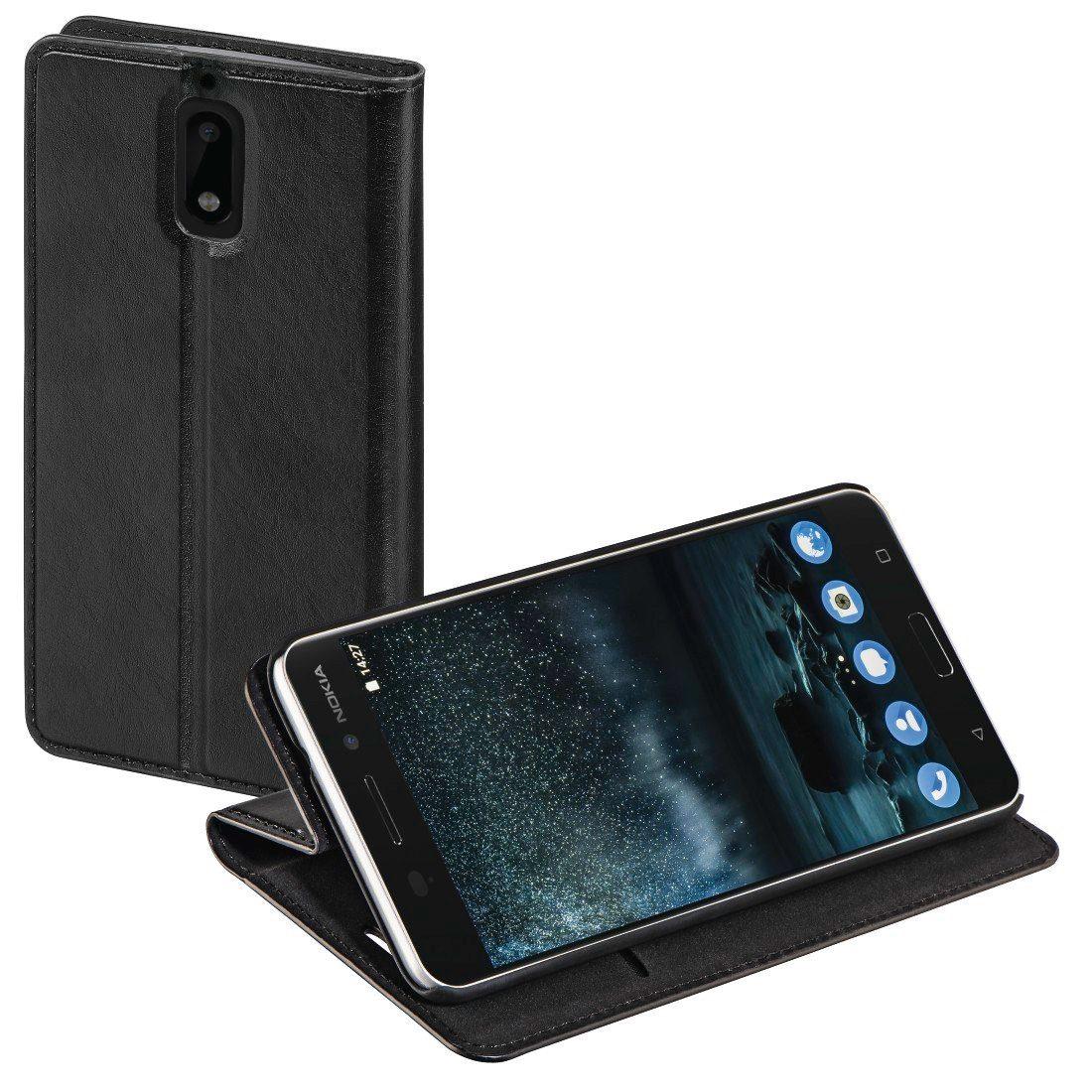 Hama Booklet Single für Nokia 6, Schwarz