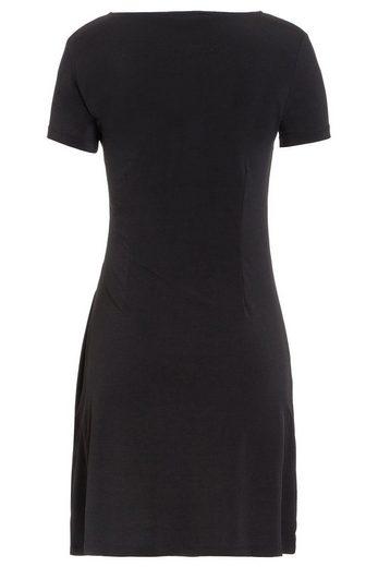 MORE&MORE Jerseykleid, schwarz