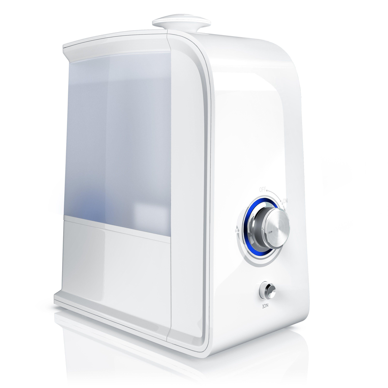 Arendo LED Luftbefeuchter mit Ionisierung & Ultraschall »3500ml / Geruchsneutralisation«