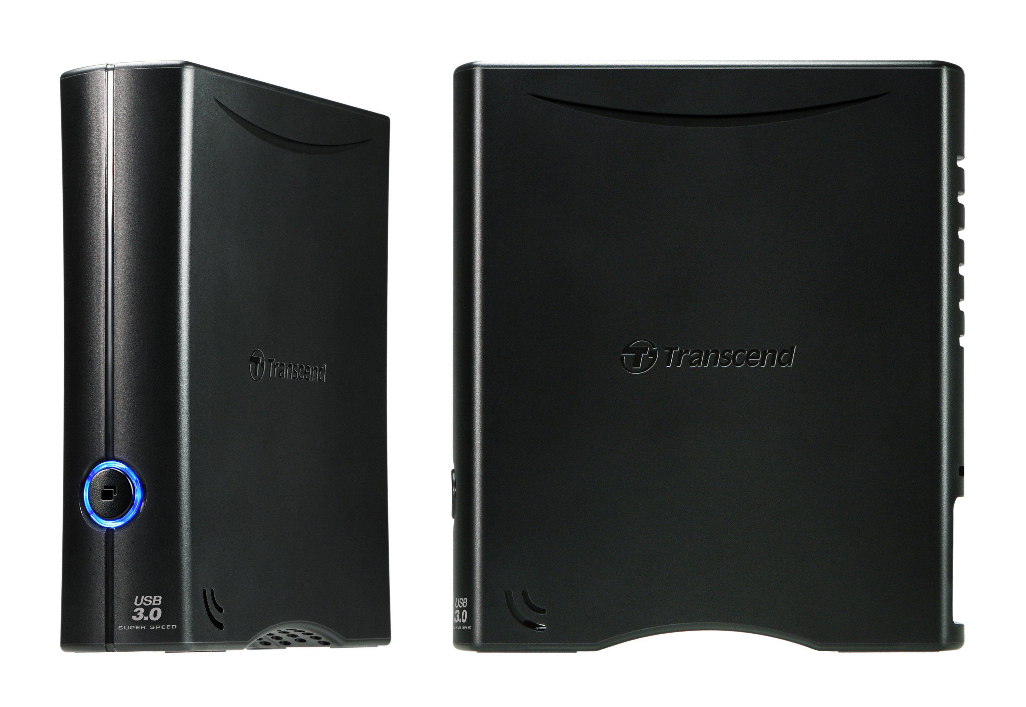 """Transcend 4TB StoreJet 35T3 externe HDD 3,5"""" USB 3.0"""