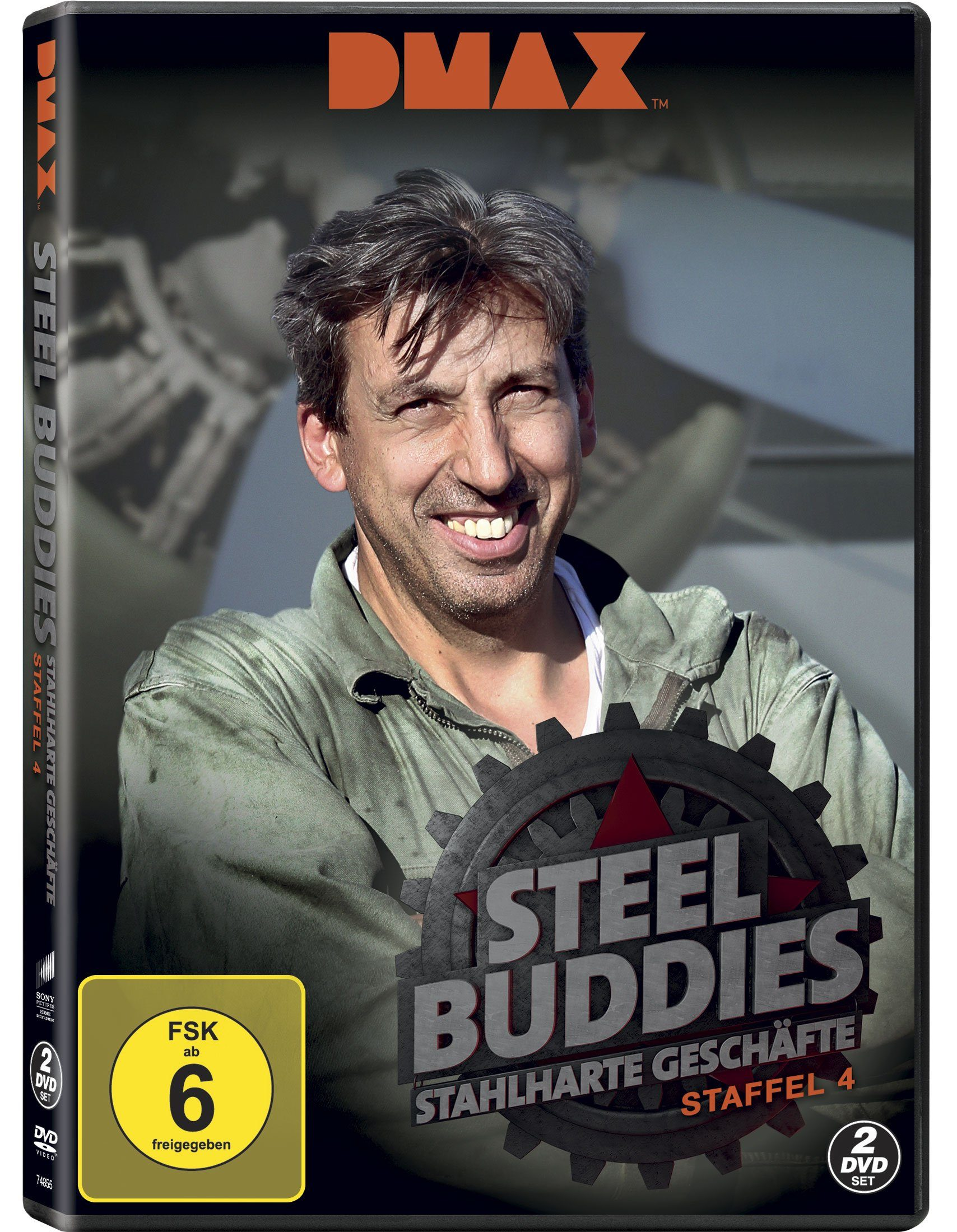 Sony Pictures DVD »Steel Buddies - Staffel 4 (DMAX - 2 Discs)«