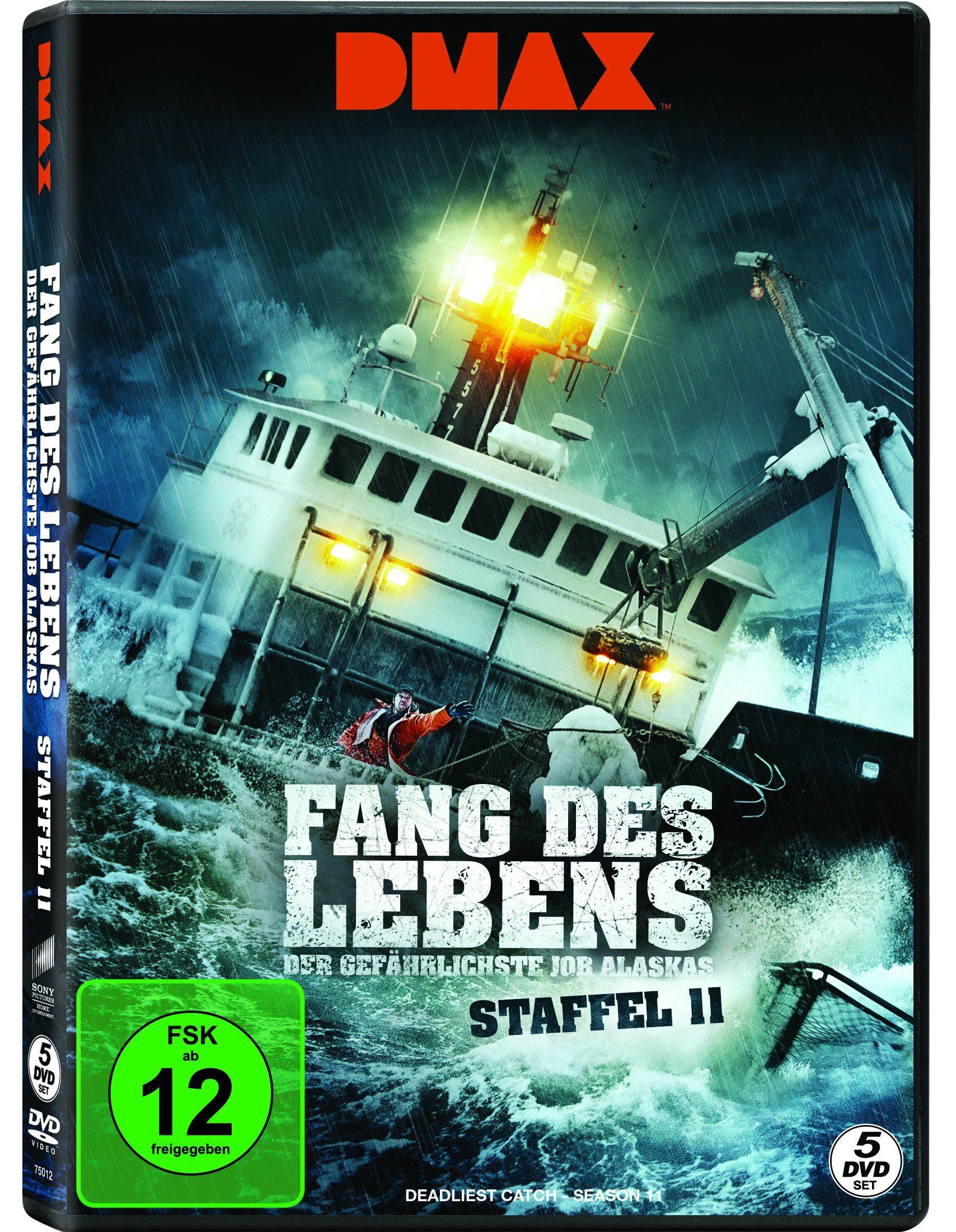 Sony Pictures DVD »Fang des Lebens Staffel 11 (DMAX - 5 Discs)«