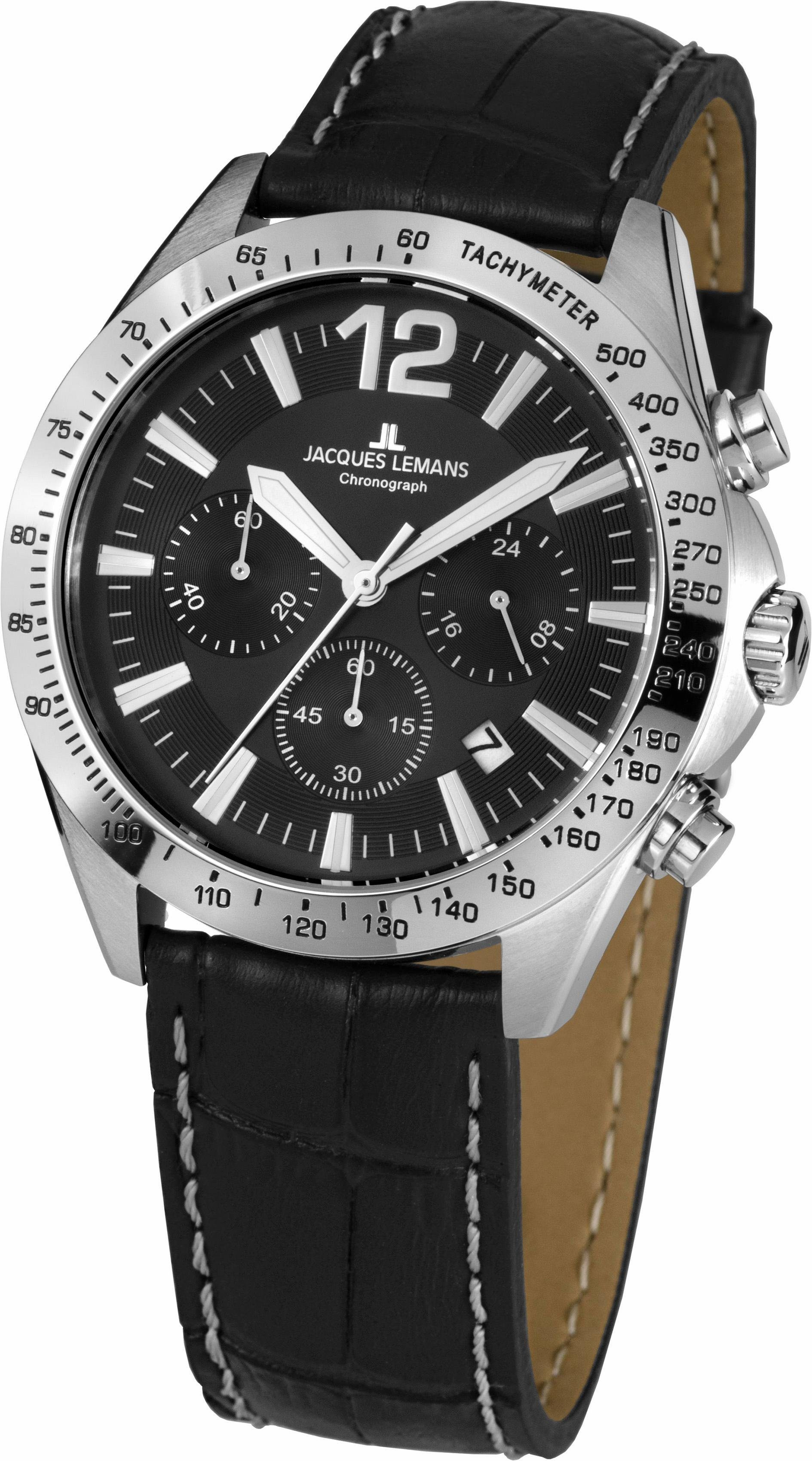 Jacques Lemans Sports Chronograph »Aktionsuhr, 42-5A«