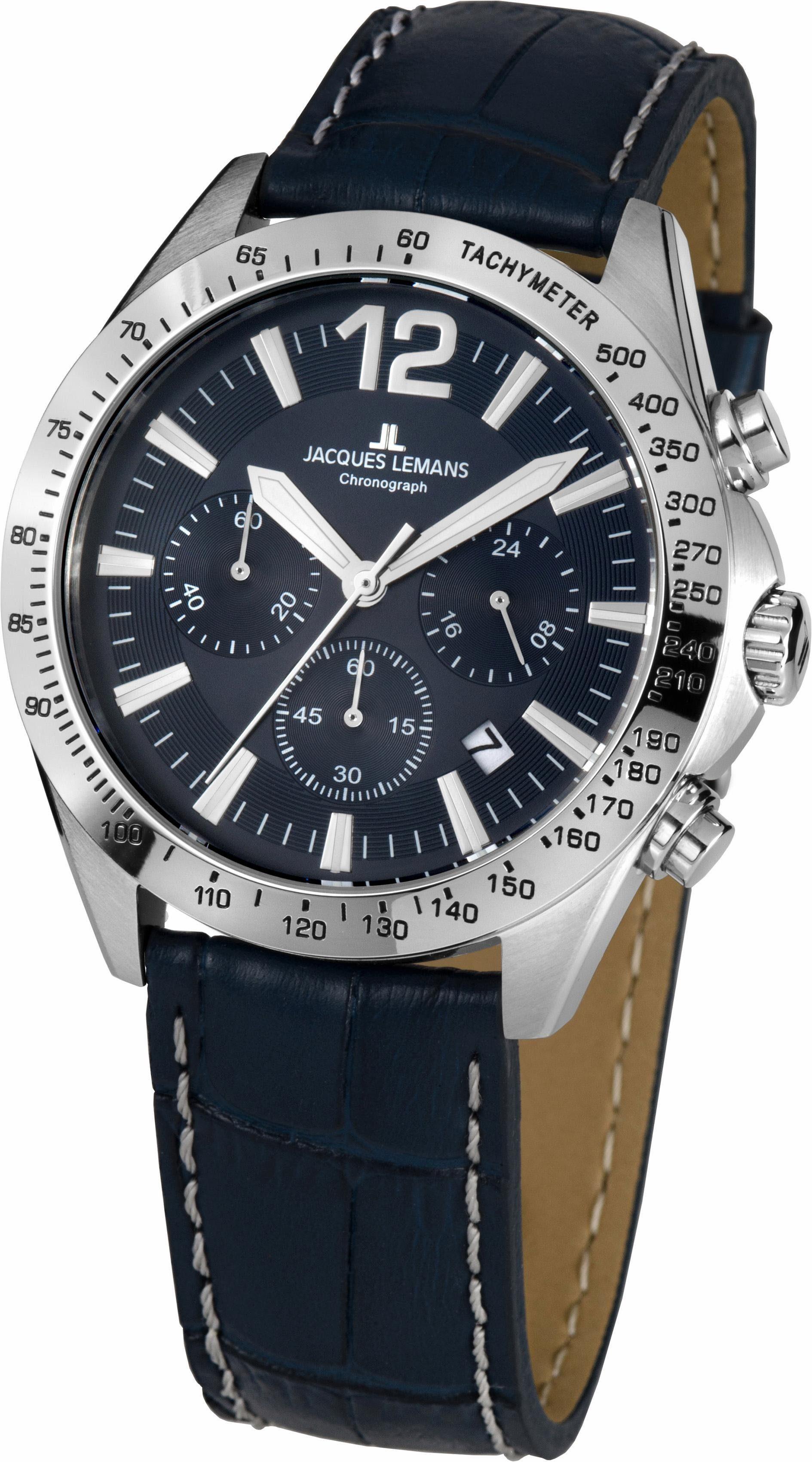 Jacques Lemans Sports Chronograph »Aktionsuhr, 42-5B«