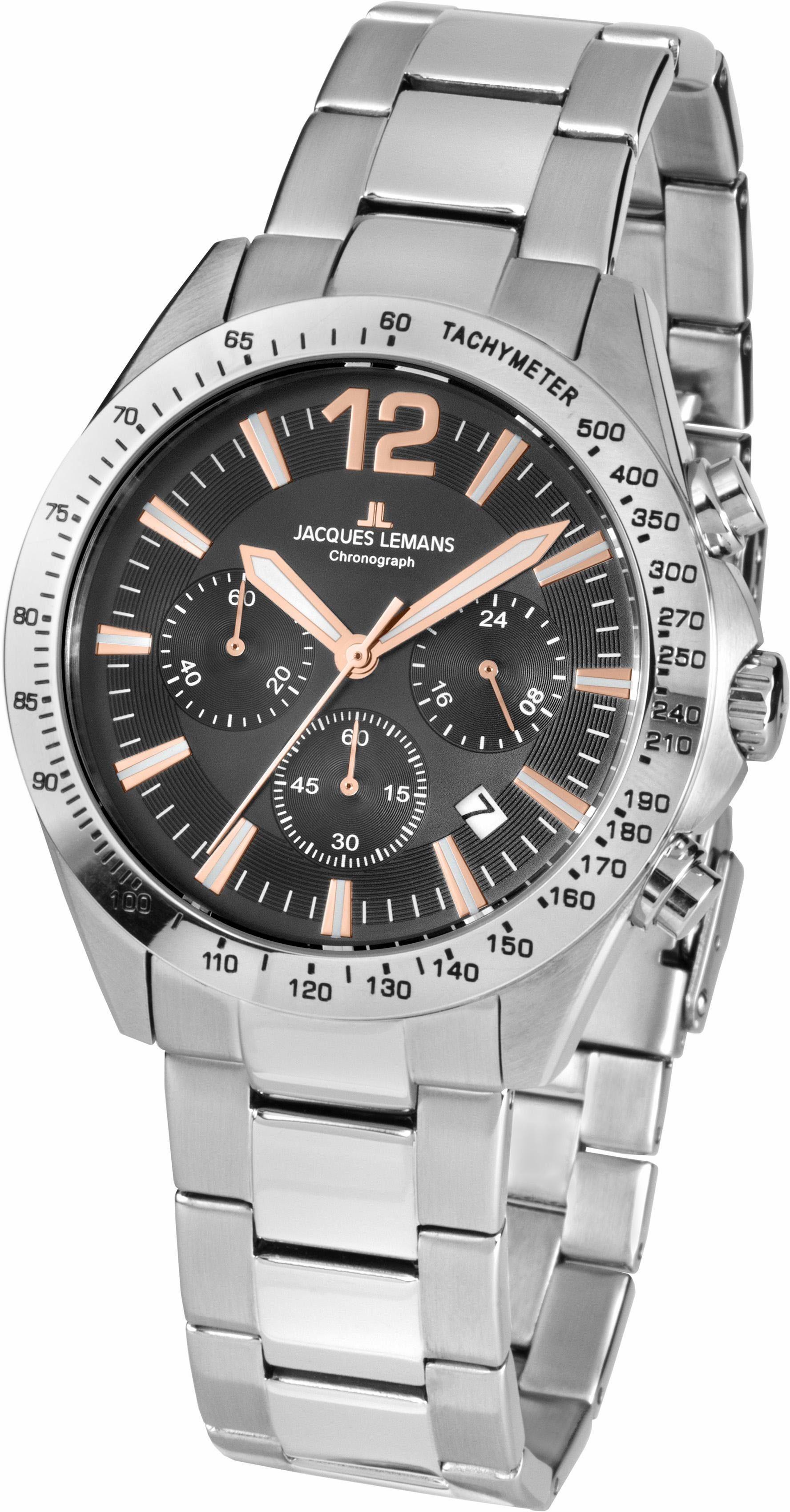 Jacques Lemans Sports Chronograph »Aktionsuhr, 42-5F«