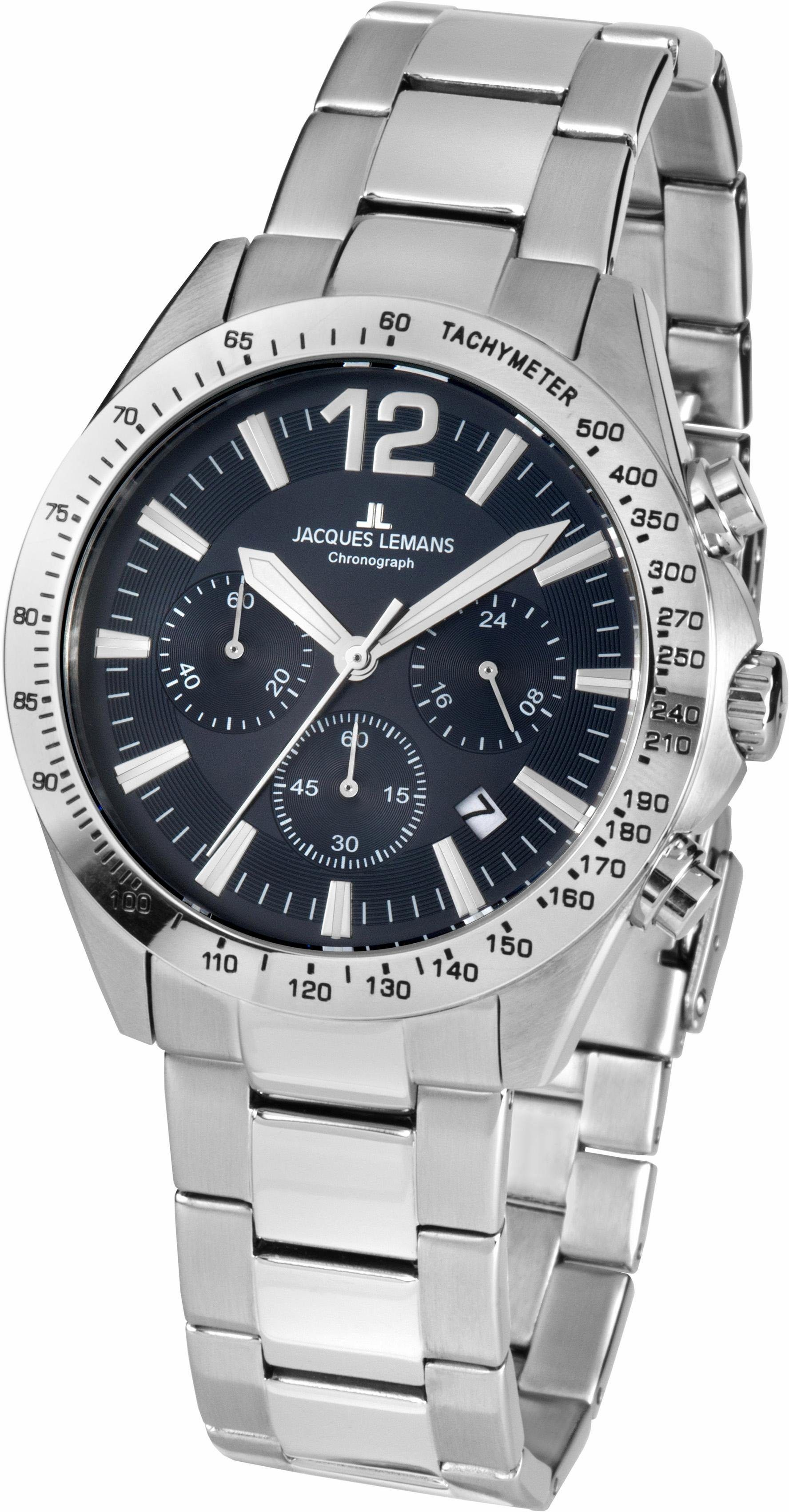 Jacques Lemans Sports Chronograph »Aktionsuhr, 42-5E«