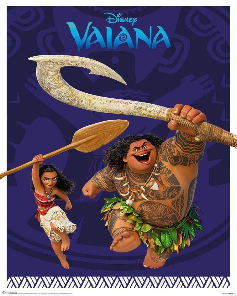 Deco-Panel »Vaiana«, Filmplakat, 40/50 cm