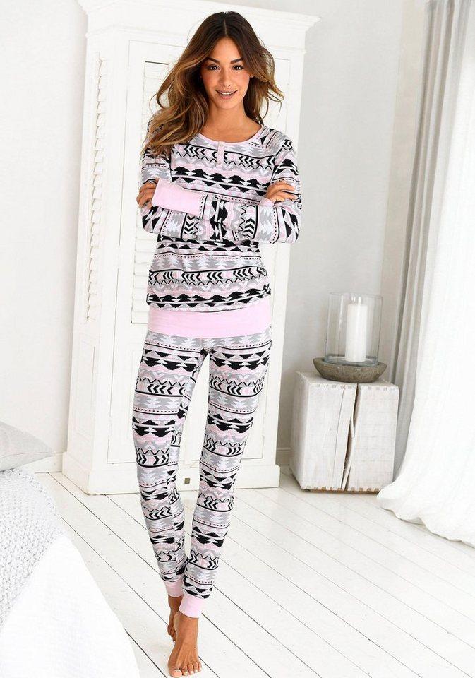 579291fed5461b Bench. Pyjama, mit Allover Sternenprint kaufen | OTTO