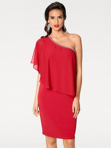 ASHLEY BROOKE by Heine Cocktailkleid One-Shoulder