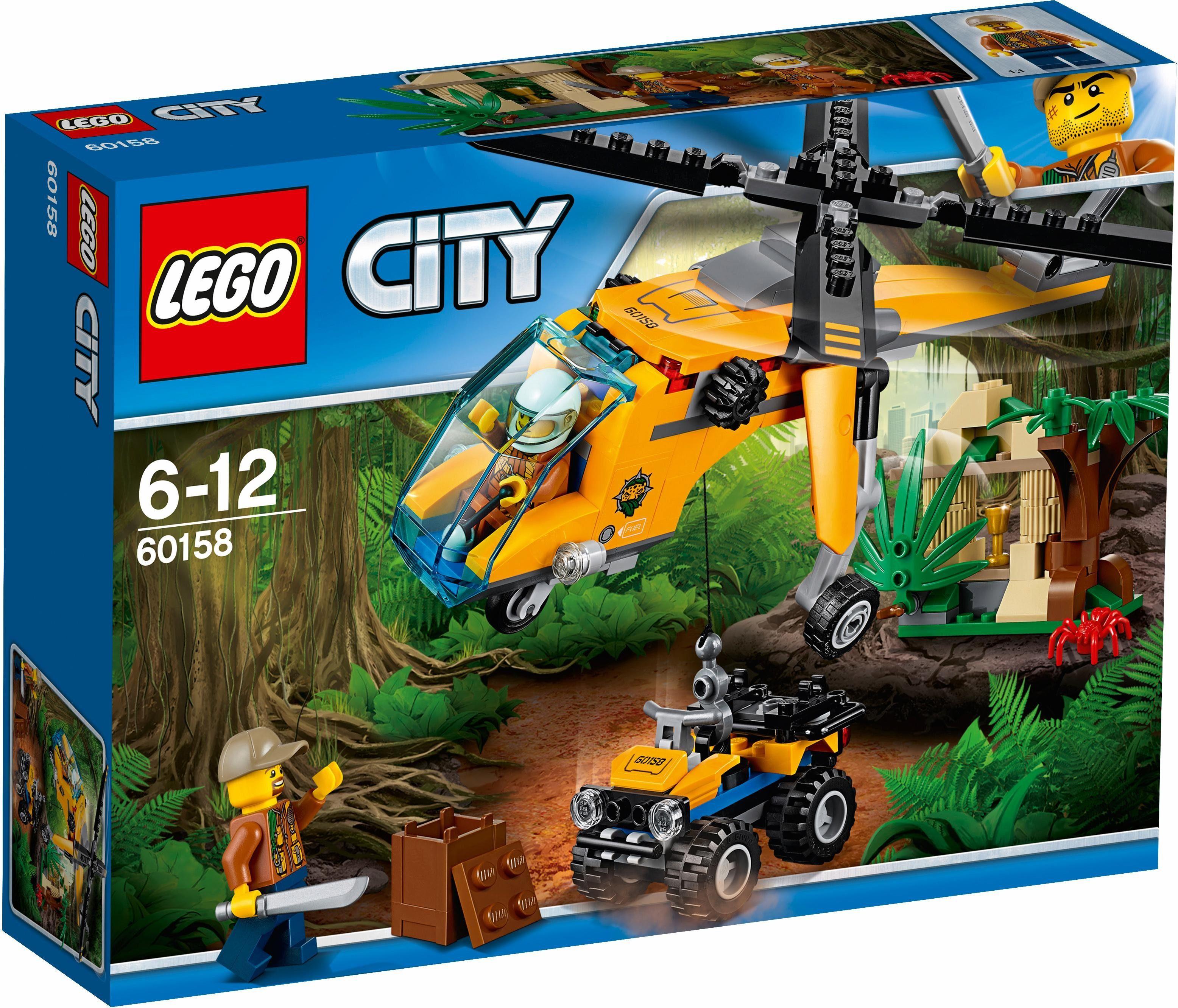 LEGO® Dschungel-Frachthubschrauber (60158), »LEGO® City«