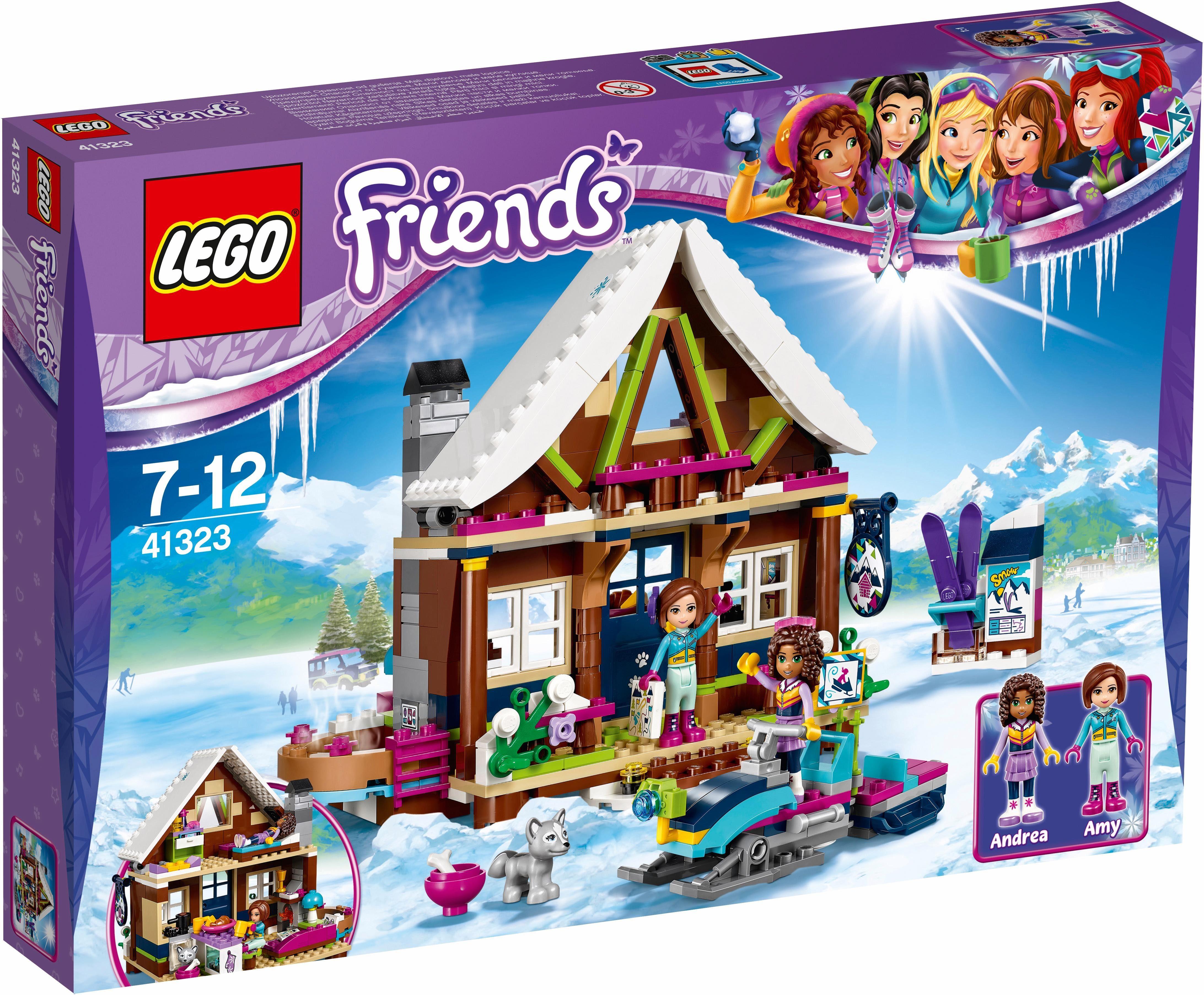 LEGO® Chalet im Wintersportort (41323), »LEGO® Friends«