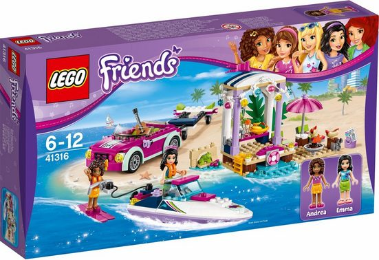 LEGO® Andreas Rennboot-Transporter (41316), »LEGO® Friends«