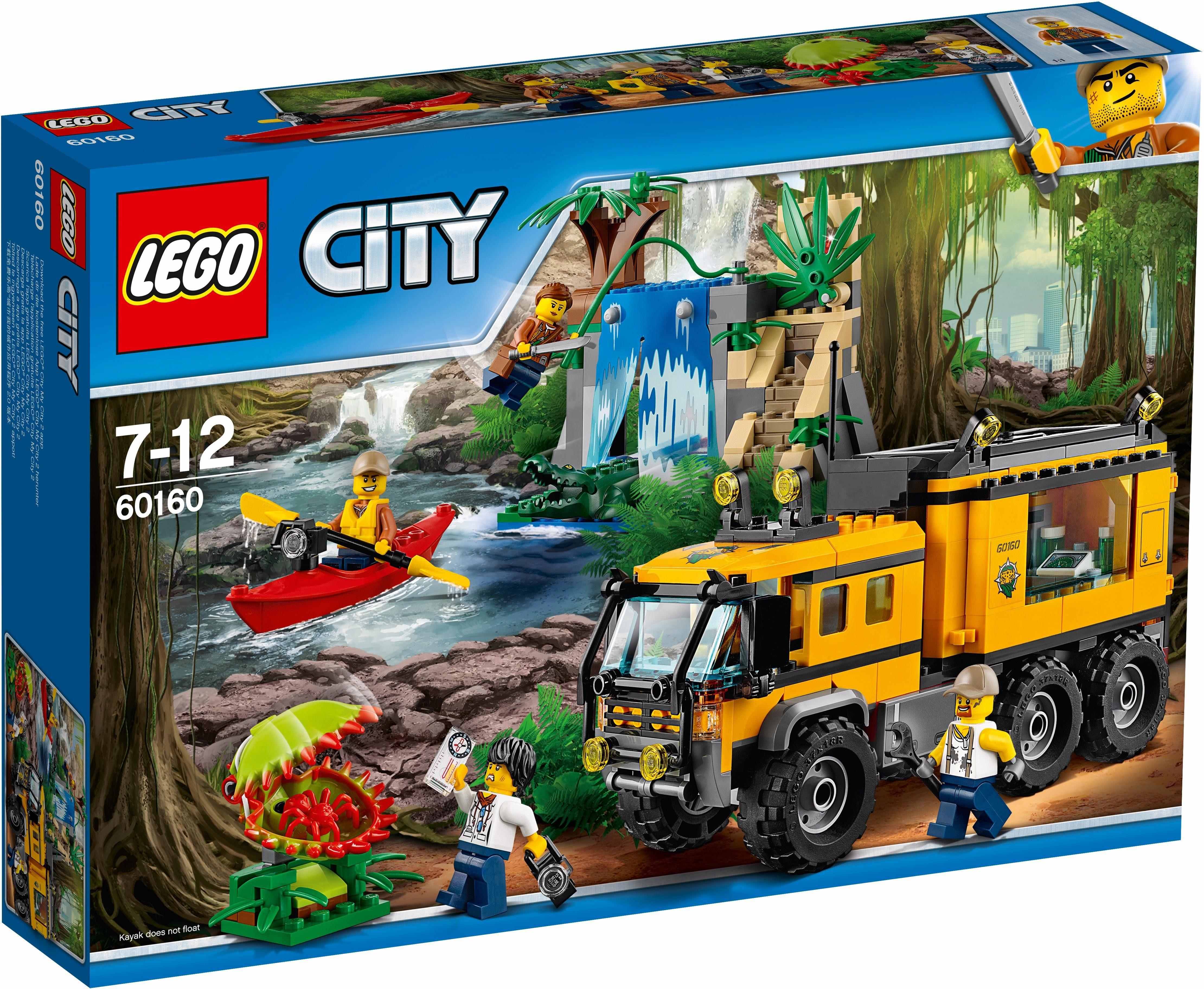 LEGO® Mobiles Dschungel-Labor (60160), »LEGO® City«