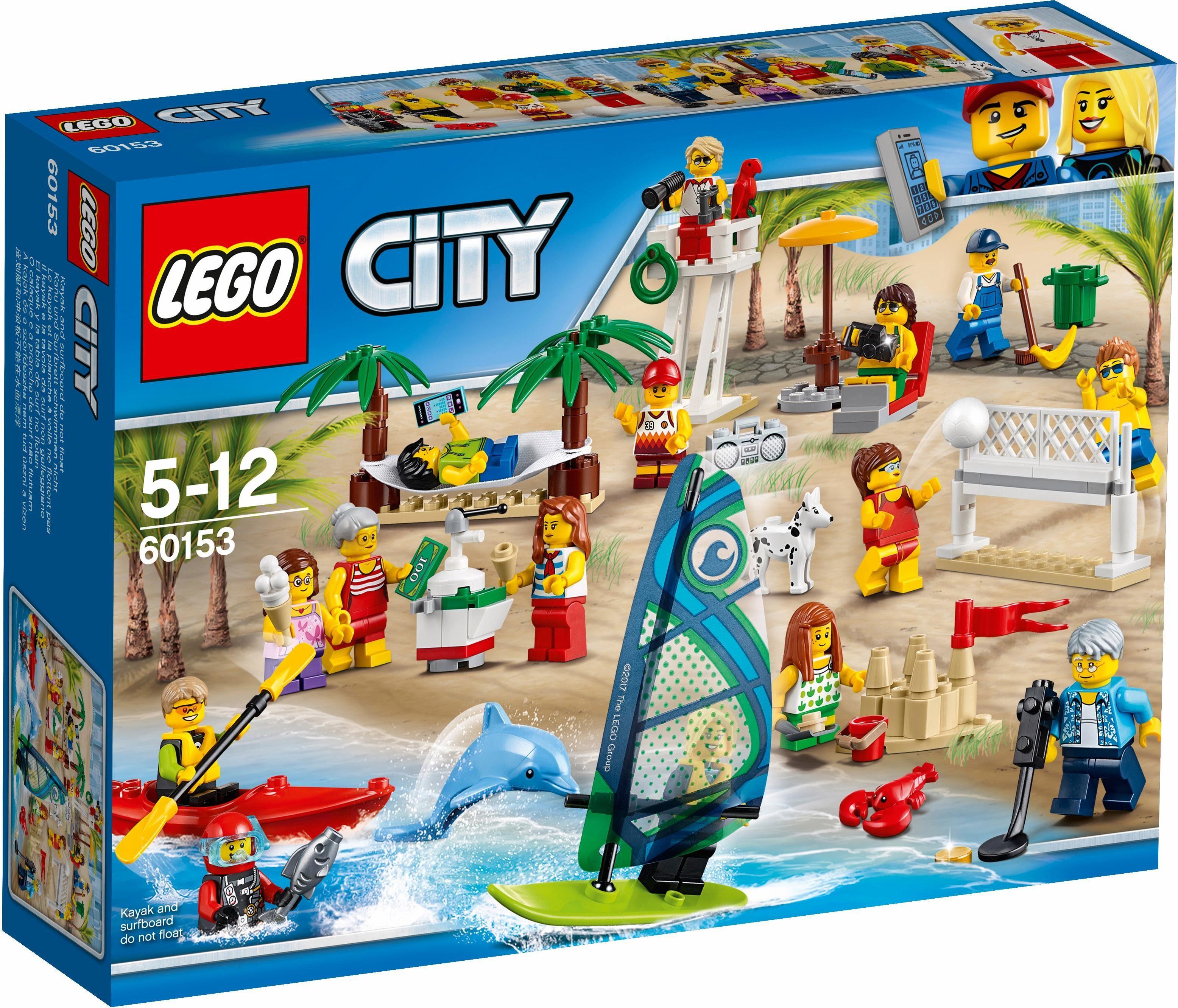 LEGO® Stadtbewohner - Ein Tag am Strand (60153), »LEGO® City«