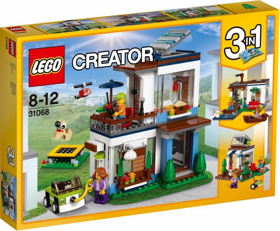 Lego modernes zuhause 31068 lego creator otto for Modernes lego haus
