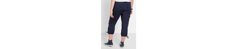 sheego Casual 3/4-Hose, elastische Baumwollqualität