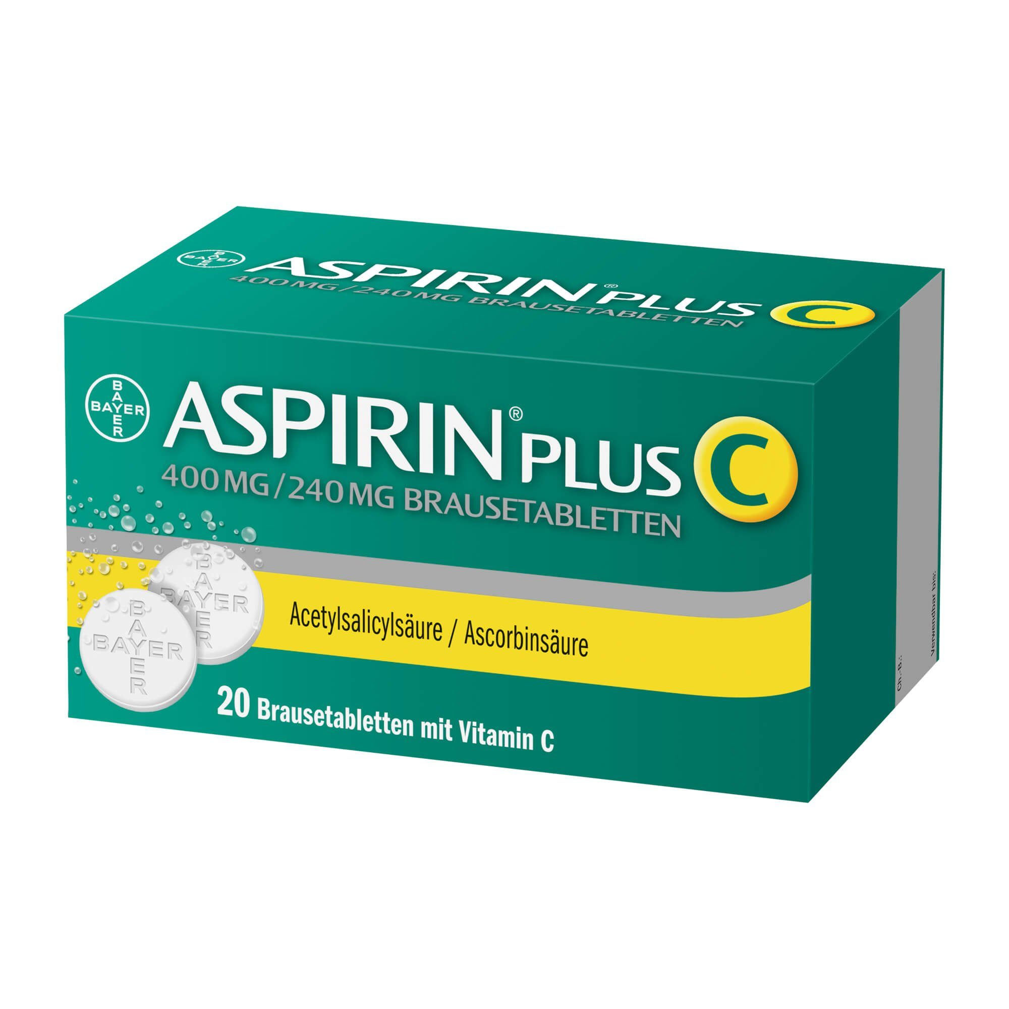 Aspirin Plus C Brausetabletten, 20 St