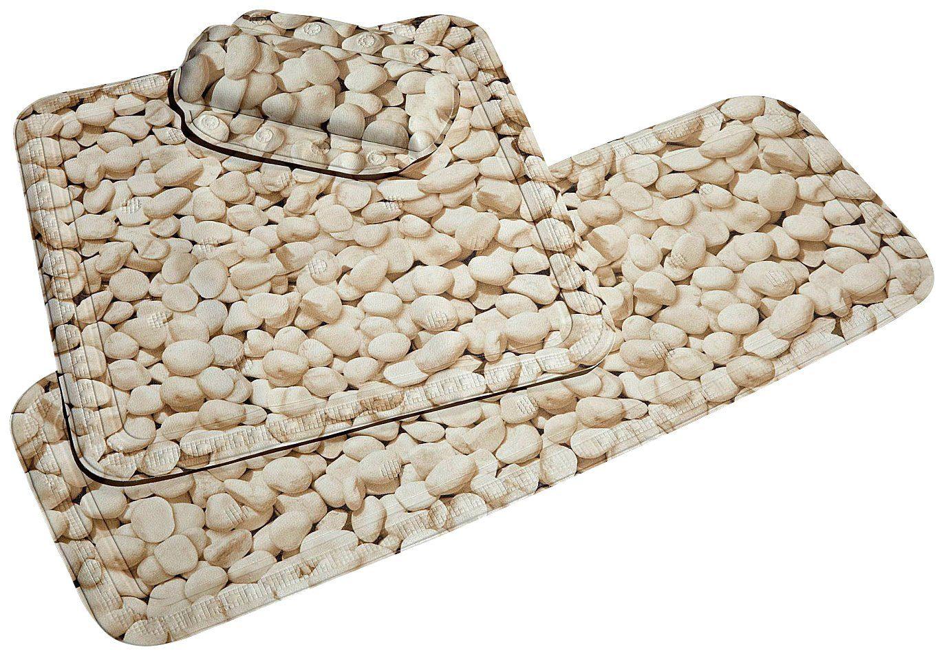Kleine Wolke Duscheinlage »Stone«