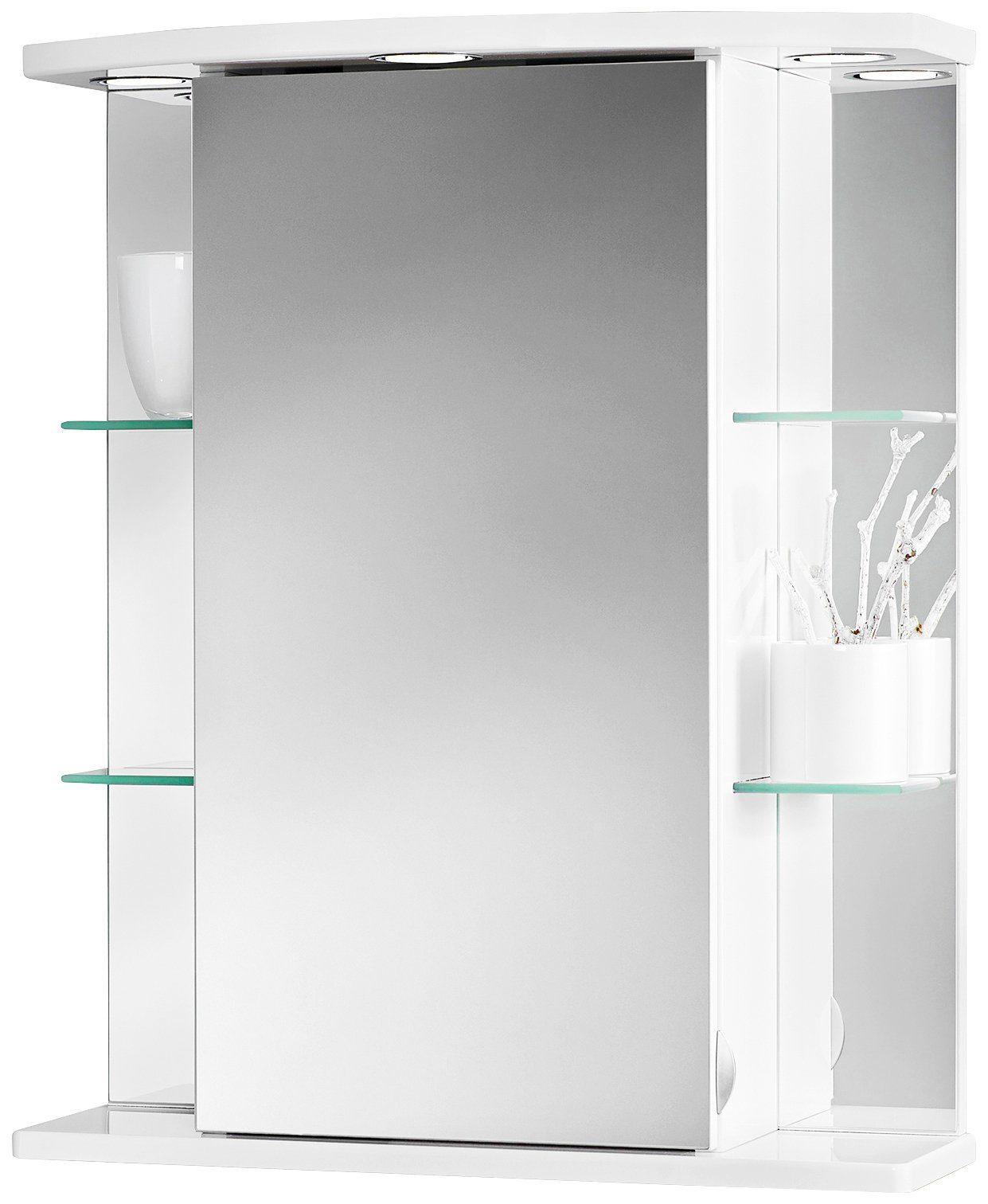 Jokey Spiegelschrank »Havana« Breite 55 cm, mit LED-Beleuchtung