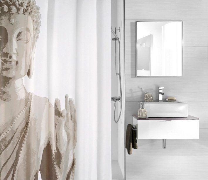 kleine wolke duschvorhang buddha breite 180 cm otto. Black Bedroom Furniture Sets. Home Design Ideas