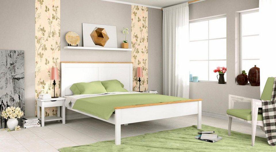 home affaire bett denver in 3 verschiedenen breiten und 2 farben online kaufen otto. Black Bedroom Furniture Sets. Home Design Ideas