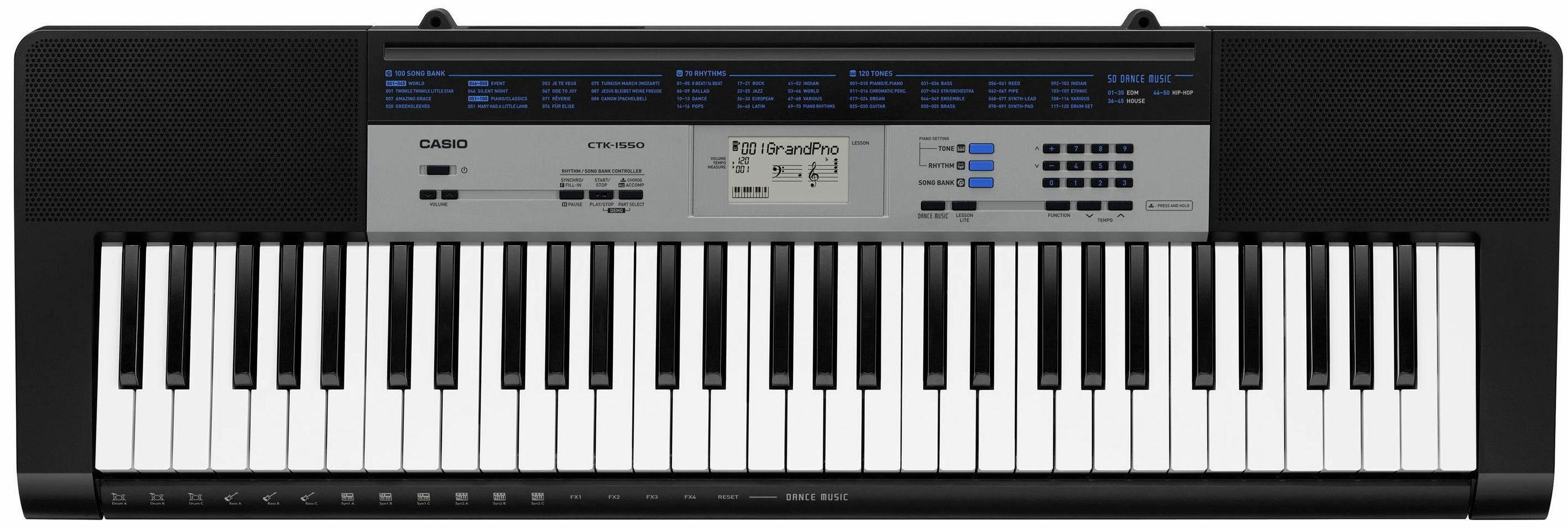 Casio® Keyboard, »CTK 1550AD«