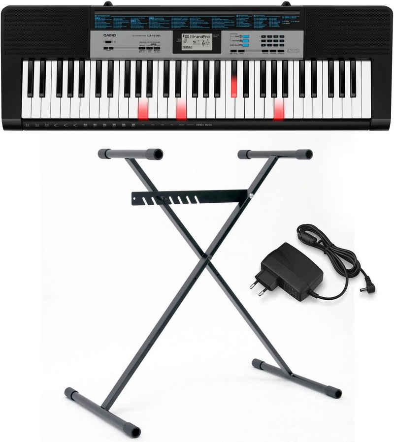CASIO Keyboard »LK136«, (Set), mit Leuchttasten-Lernsystem