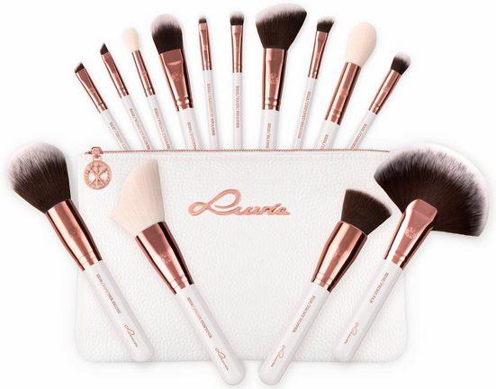 Luvia Cosmetics Kosmetikpinsel-Set »Essential Brushes - Feather White«, 15 tlg., vegan