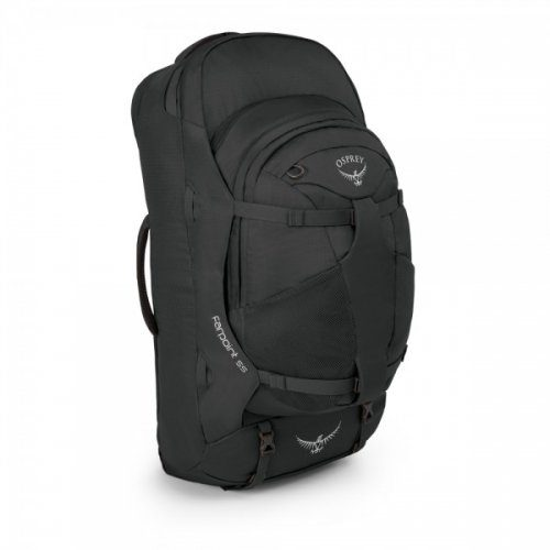 Unisex Osprey Rucksäcke »Farpoint 55 S/M« grau, rot   00845136029187