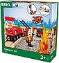 BRIO® Spielzeug-Eisenbahn »Brio WORLD Feuerwehr Set«, (Set), mit Licht und Soundfunktion, Bild 2