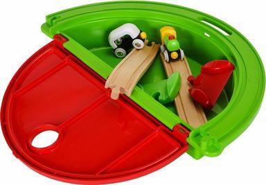 BRIO® Spielzeug-Eisenbahn »BRIO® WORLD Mein erster Mitnehm Spielkoffer«, (Set)
