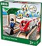 BRIO® Spielzeug-Eisenbahn »Brio WORLD Straßen & Schienen Reisezug Set«, Bild 2