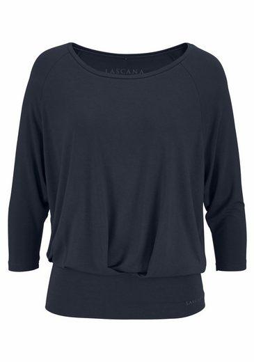 LASCANA Yoga & Relax Shirt mit breitem Bund