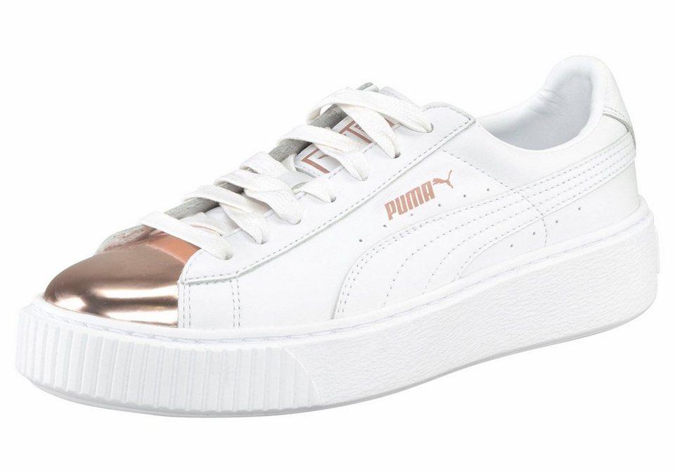 Puma Platform Weiß