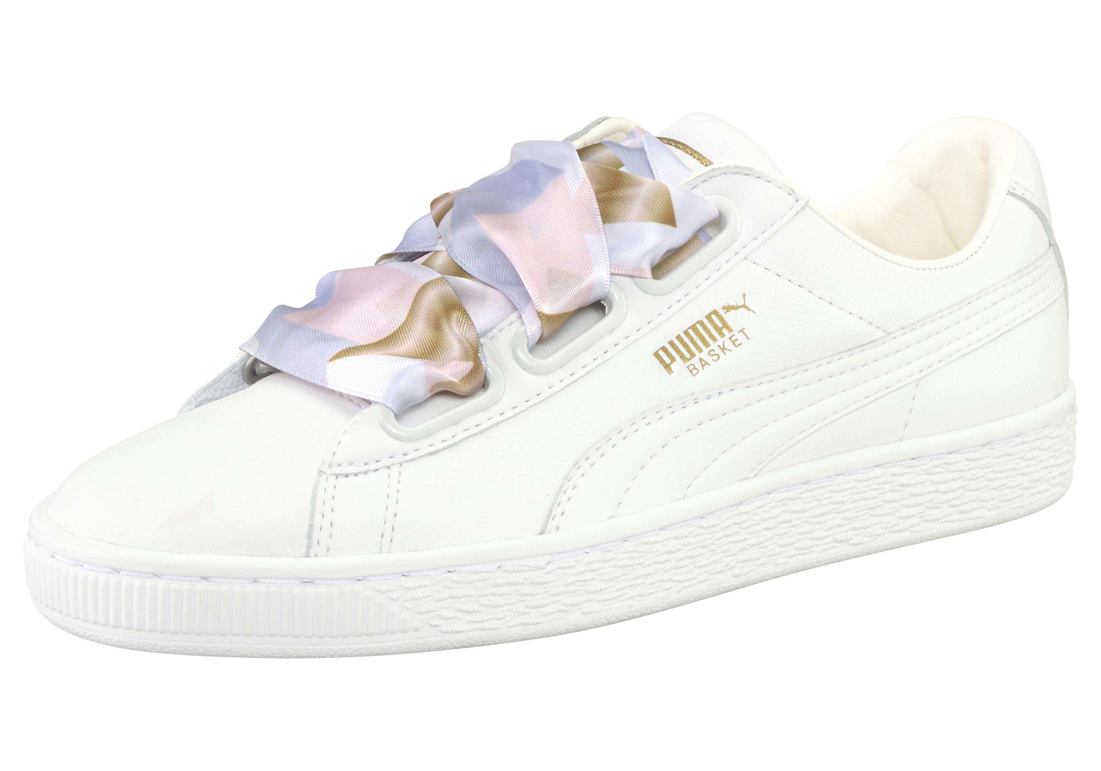 PUMA Basket Heart Geo C Sneaker online kaufen  weiß